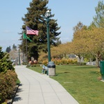 Grand Avenue Park Sidewalk
