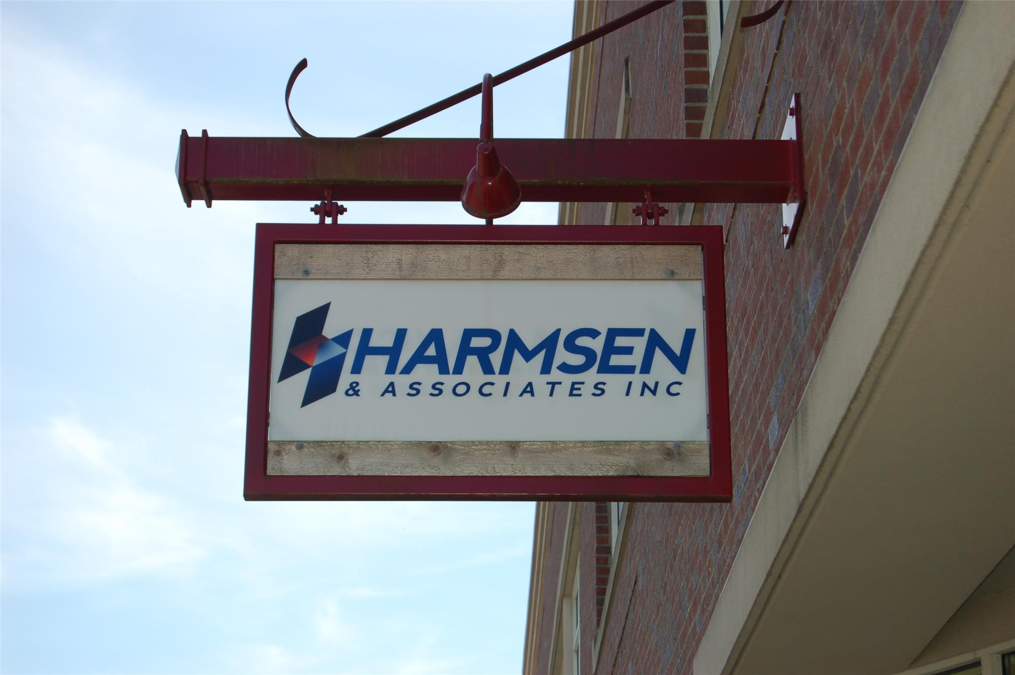 Hamsen Office Sign