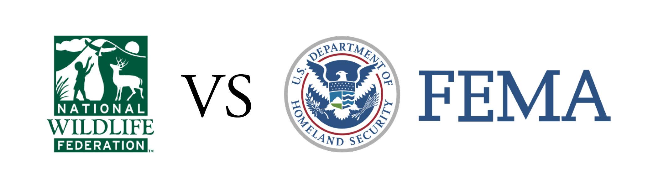 National Wildlife Federation vs FEMA